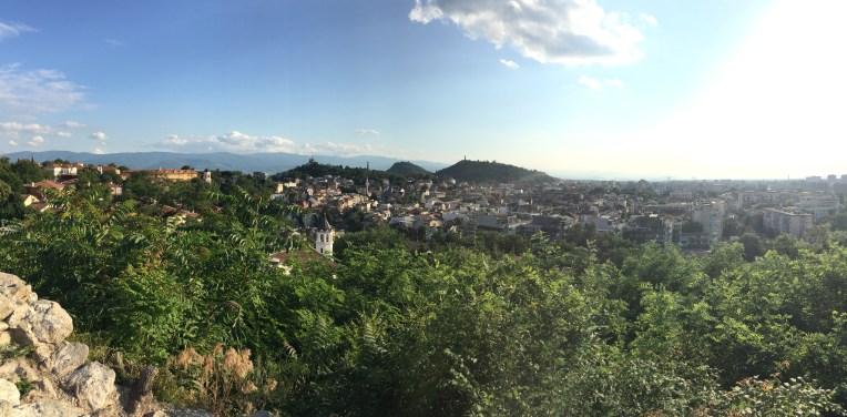 "view from ""Небет тепе"""