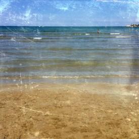 fano, italy - at the beach