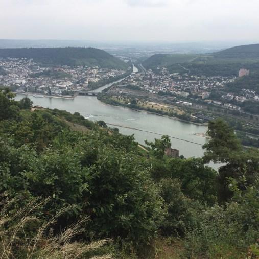 river rhine - day tour