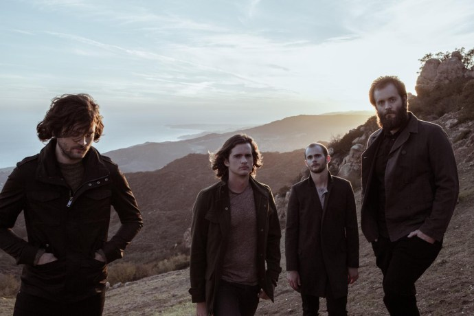 KONGOS (left to right): Jesse Kongos, Dylan Kongos, Danny Kongos, and Johnny Kongos