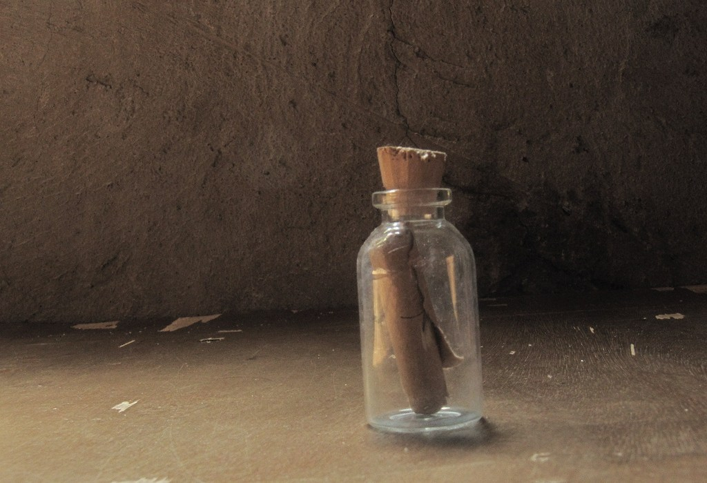 Message in a Bottle - Isolation and Art