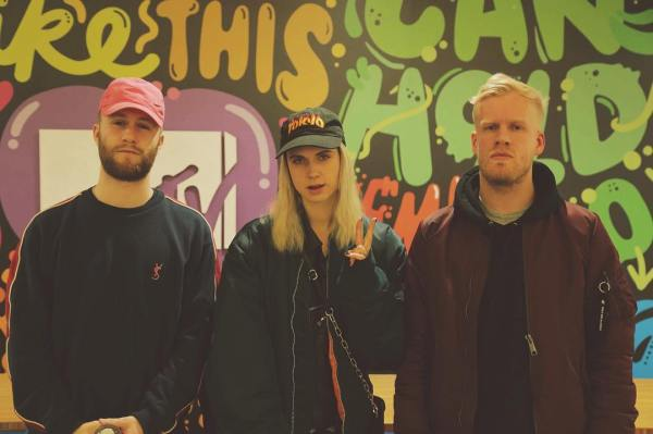 Snakehips & MØ (source: Instagram)