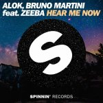 Hear Me Now - ALOK, Bruno Martini artwork