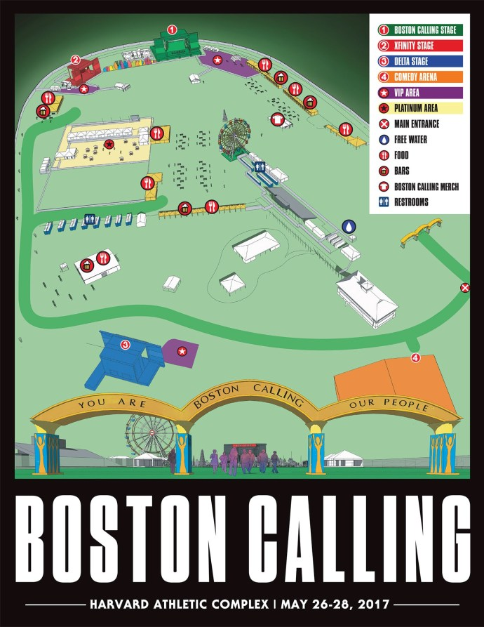 Boston Calling 2017 grounds