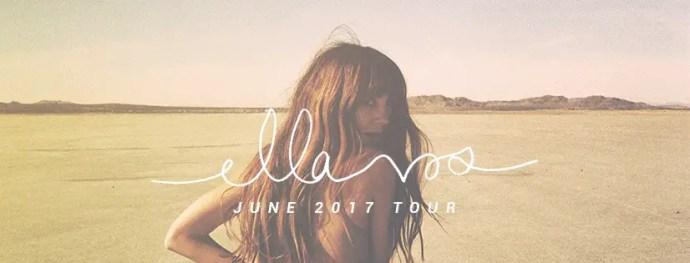 Ella Vos 2017 tour poster