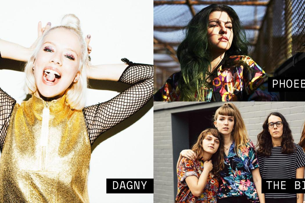 Vevo dscvr: live (Dagny, Phoebe Ryan, The Big Moon)