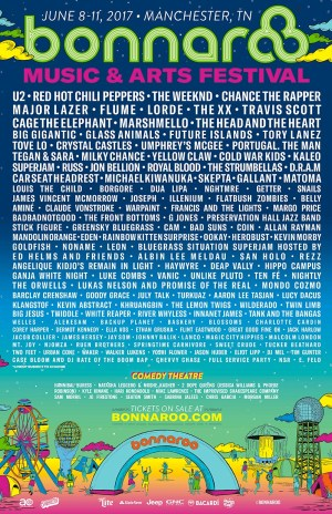Bonnaroo 2017 music lineup