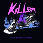 Black Sneakers on Concrete - KILLEN