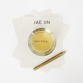 Letters & Drinks - Jae Jin