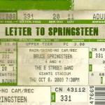 Letter To Springsteen - Gene Micofsky