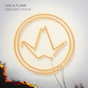 Like a Flame - Origami Crane