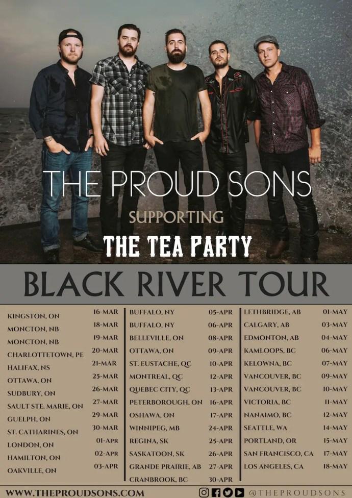 The Proud Sons 2019 tour dates