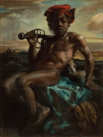 Pierre Puvis de Chavanne's anti-slavery painting from 1850