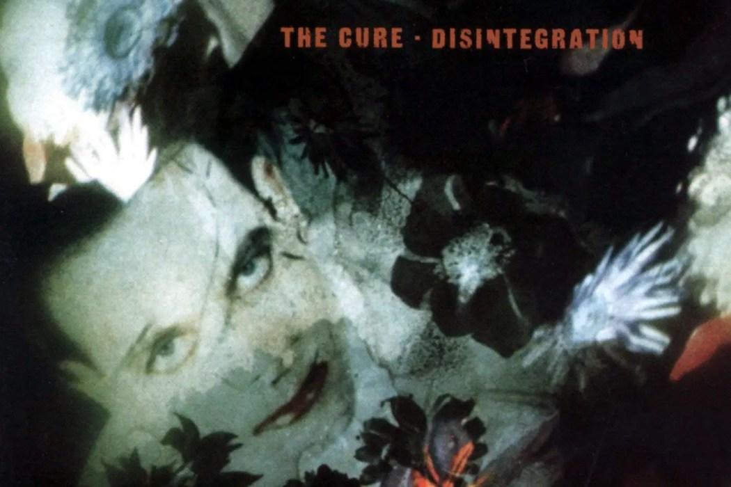Disintegration - The Cure Album Art
