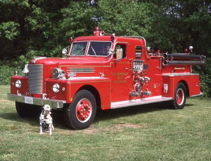 Cars For Sale Austin Tx >> Mighty 1955 Pirsch Fire Truck at Law Office in Georgetown ...