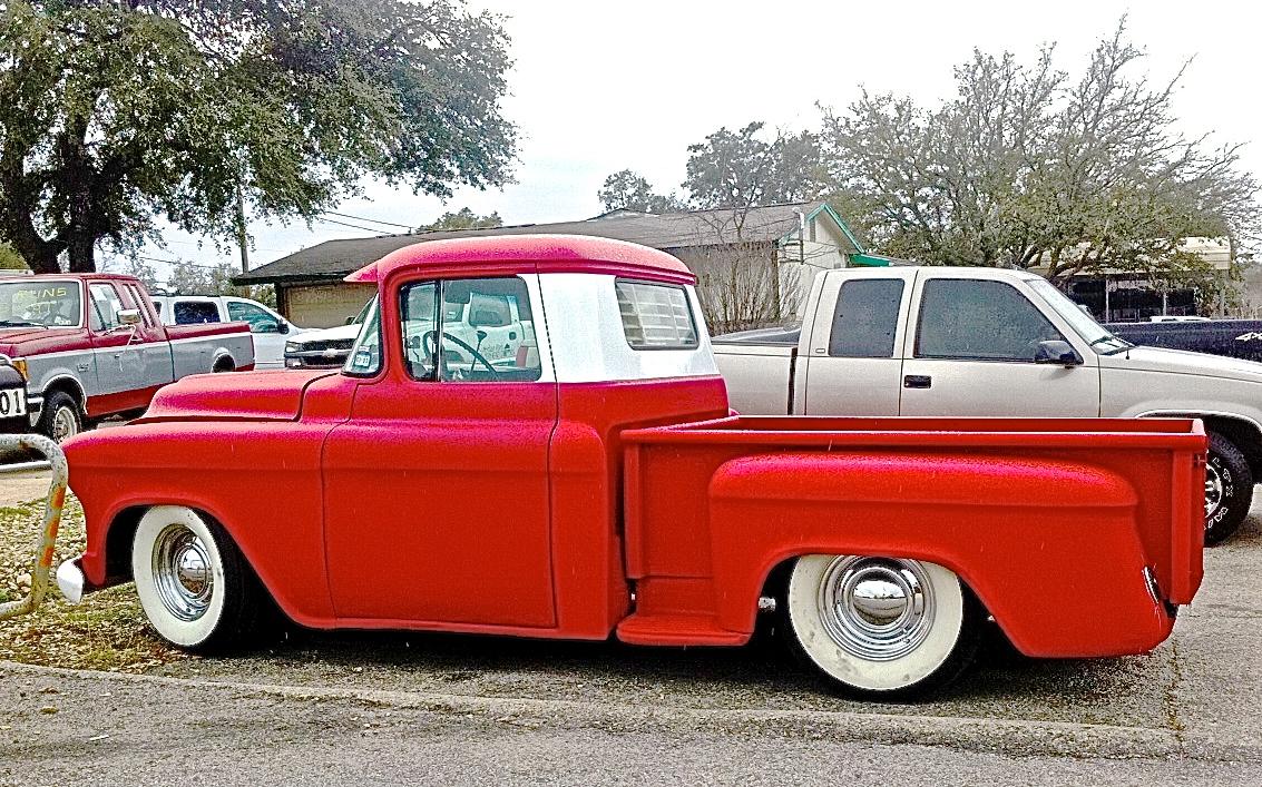 1957 Chevy Custom Task Force 3100 Stepside Pickup in NW ...