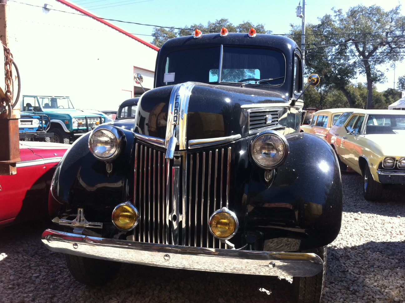 large c 1940 ford truck for sale at motoreum in nw austin atx car pictures real pics from. Black Bedroom Furniture Sets. Home Design Ideas
