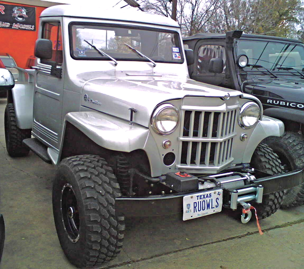 Brilliant Custom 50s Willys Jeep Pickup
