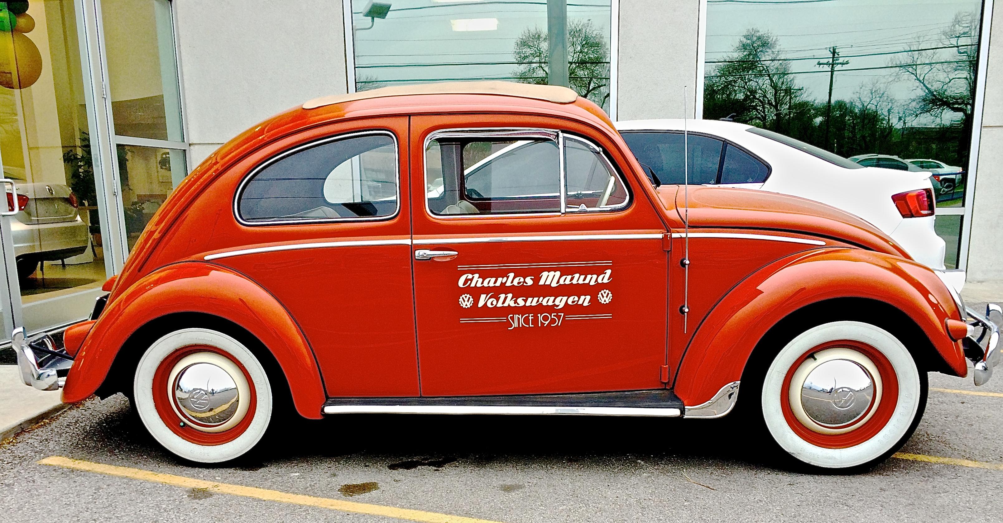 1957 Volkswagen At Charles Maund Dealership On Burnet Road
