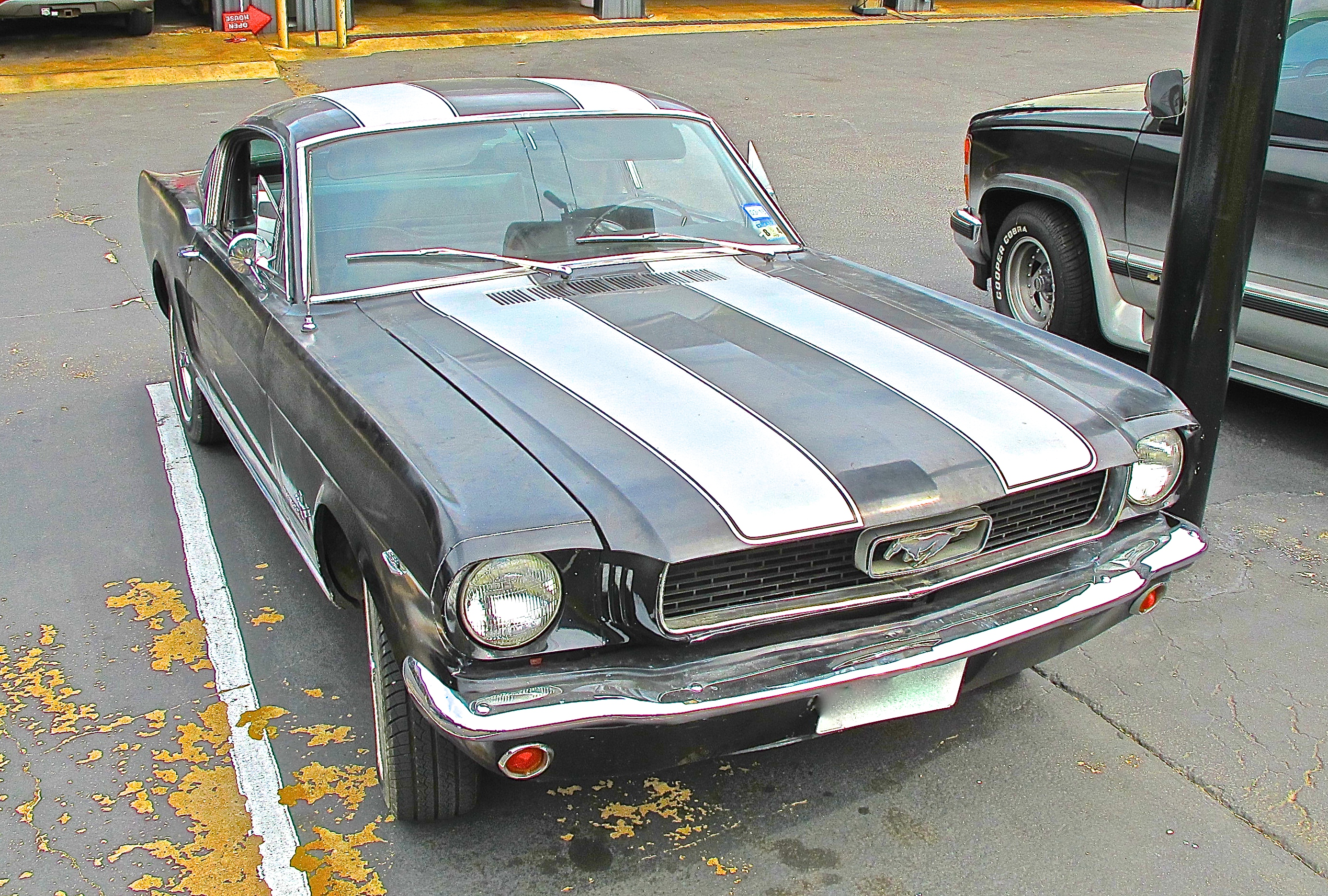 1965 ford mustang fastback on s 1st st