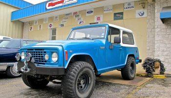 70s Jeep Truck at Custom Car Crafters in N  Austin | ATX Car