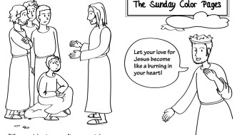 22nd Sunday in Ordinary Time Coloring Pages
