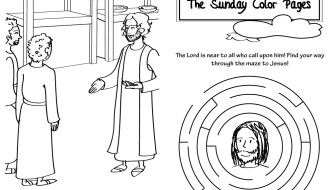 25th Sunday in Ordinary Time Coloring Pages