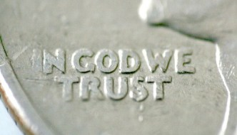 In God We Trust (Reversed Len) by wilson.cheong, on Flickr