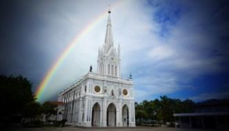 church with sky