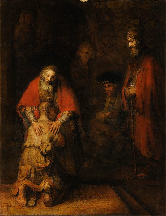Rembrandt - Return of the Prodigal Son - Google_Art_Project Weeping
