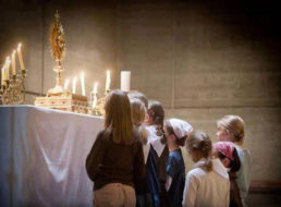 Children Adoring the Blessed Sacrament