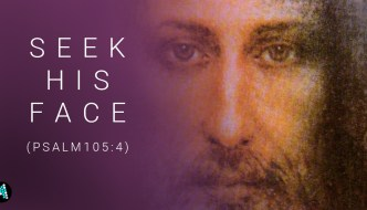 Seek His Face (Psalm105:4)