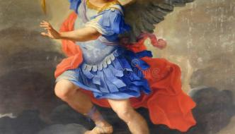 "Angels & Dragons XI: ""Michael the Archangel will Arise."" (Dn.12:1)"