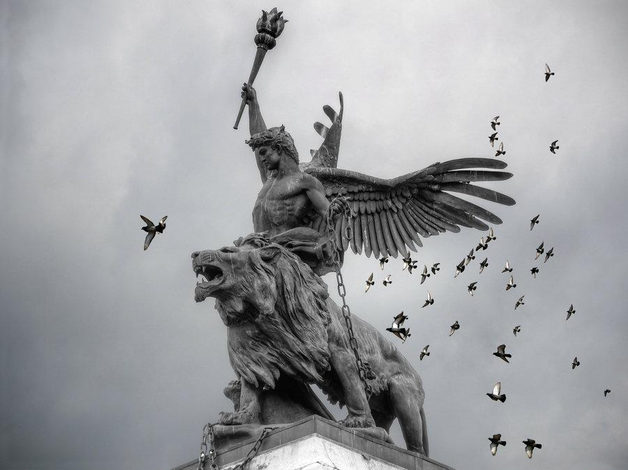 Angels & Dragons XIX: The Angel of Peace in America