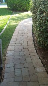 Paver Pathway in South Austin, Texas