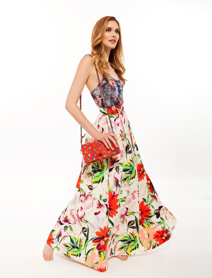 Grace Paulter - Floral Prints - Maxi Dress