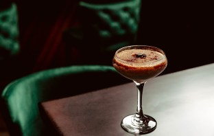 Velouria Frozen Espresso Martini. Photo courtesy of Cassandra Klepac Photography