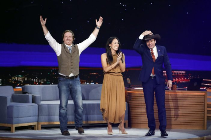 The Tonight Show Starring Jimmy Fallon - Chip and Joanna Gaines