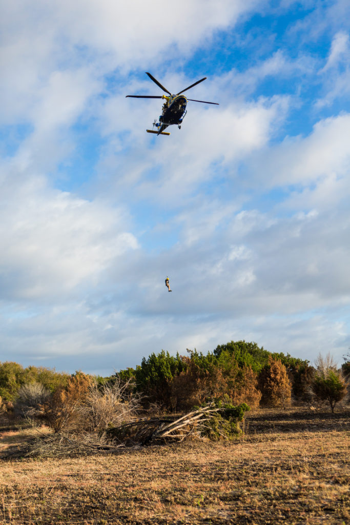 Travis County Star Flight  - helicopter