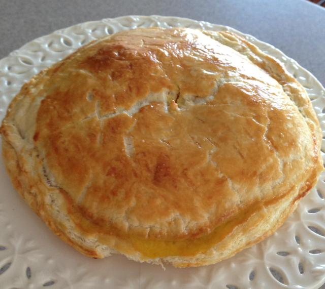 Galette des rois nice and tasty