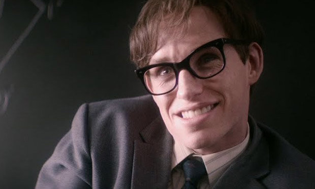 Redmayne as hawking