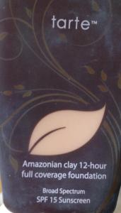 Tarte amazonian clay full coverage foundation