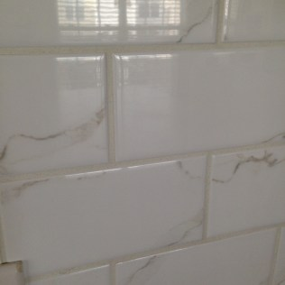 perfect grout job