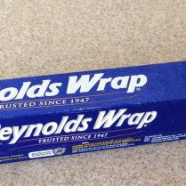 reynolds wrap old school tanning device