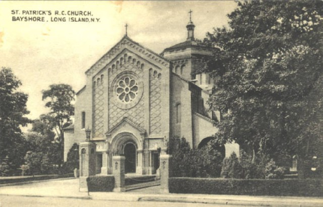 St Pats postcard
