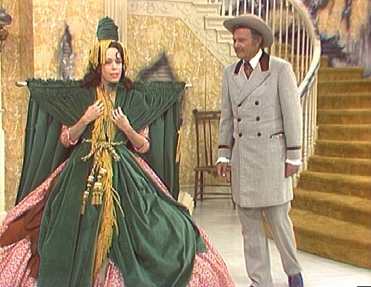 The infamous gone with the wind skit
