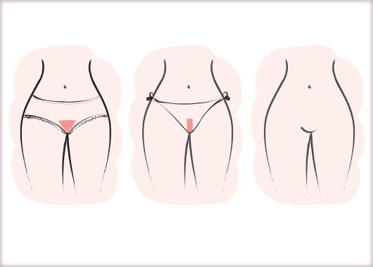 Benefit bikini was chart