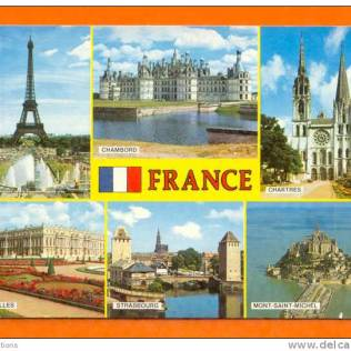 france postcard