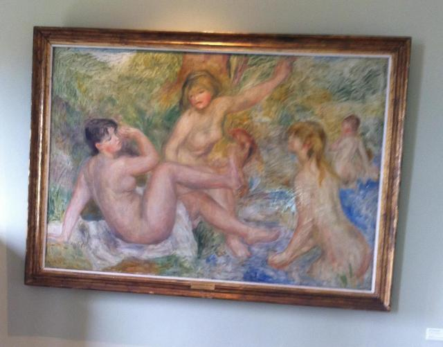 Renoir's home. Nudes having a great time.