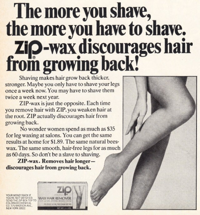Zip Wax ad
